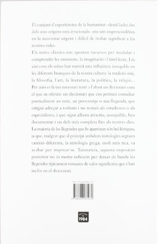 Diccionari de mitologia grega i romana (Assaig) por Pierre Grimal