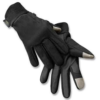 Highlander Handschuhe Touch Screen schwarz,GR.L-XL/9-10