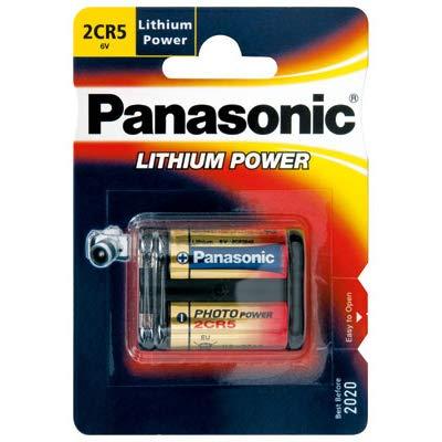 6v Photo Lithium Batterie (Panasonic 2CR5 6V Photo Power Lithium Batterie 10-Pack, 1600mAh)