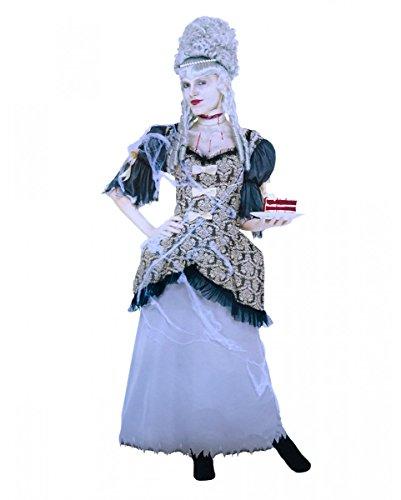 Horror-Shop Marie Antoinette Geister Kostüm S