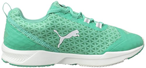 Puma Ignite Xt Filtered Wns, Chaussures de fitness femme Vert - Grün (mint leaf-white 02)
