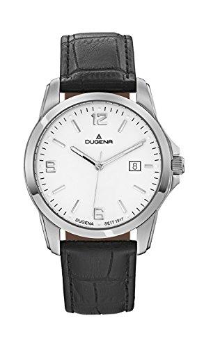 Dugena Men's Quartz Watch 4460446 with Leather Strap