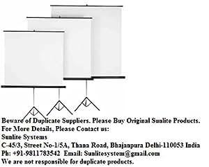 Prolite Motorized Projection Screen Size: 6'X4'