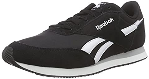 Reebok Herren Royal Classic Jogger 2 Sneakers, Schwarz (Black/White/Baseball Grey), 39 EU