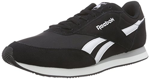 Reebok Royal Cl Jogger 2, Sneakers Uomo, Nero (Black/White/Baseball Grey), 43 EU