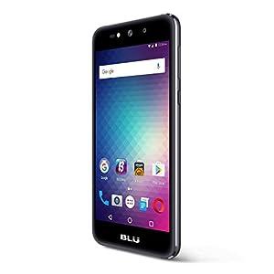 BLU Grand X - SIM-Free Smartphone- 8GB + 1GB RAM -Grey