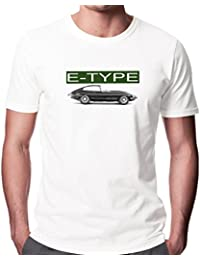 Jaguar E-Type Men's Fashion Quality Heavyweight T-Shirt.