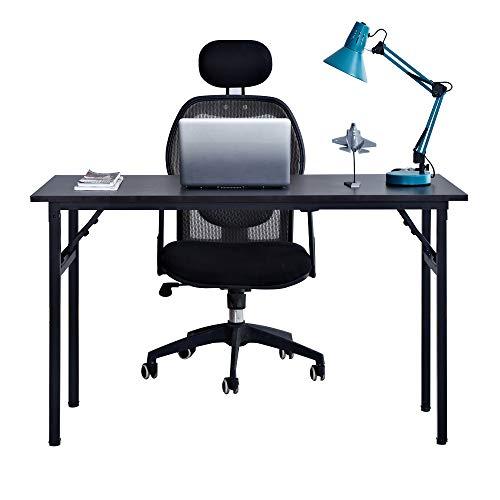 Need Schreibtisch Klapptisch Holzwerkstoffen Computertisch PC Tisch Bürotisch Arbeitstisch Esstisch für Zuhause, Büro, Picknick, Garten 120 * 60 cm,AC5CB