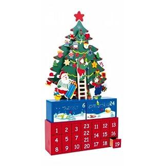 Calendario de Adviento Arbol de Navidad