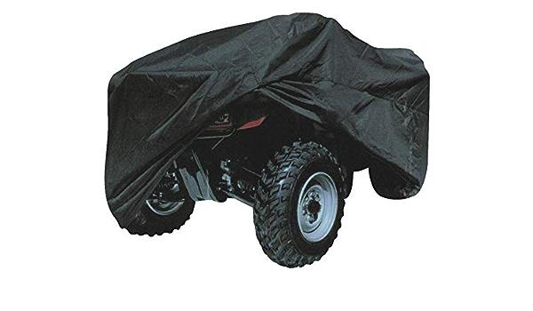 Quad Atv Abdeckplane Cover Wasserdicht Schwarz Xl Auto