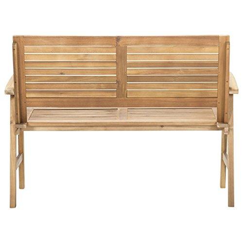 Gartenbank Holz Akazie 2-Sitzer OUTLIV. Bali Holzbank massiv 120 cm Sitzbank Garten - 3