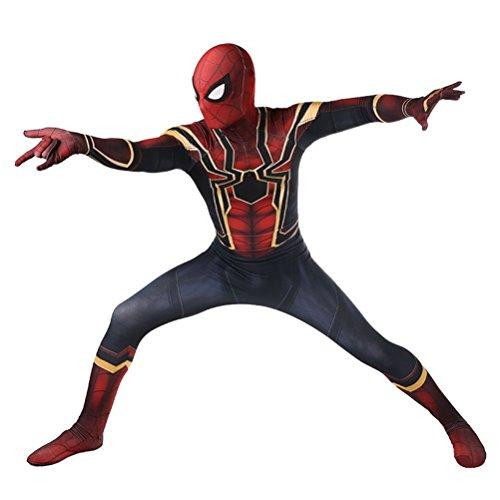 s Kinder Spandex Body Lycra Halloween Cosplay Zentai Kostüm (ERWACHSENE-XXL(180CM-190CM)) (Spider Kostüme Für Erwachsene)