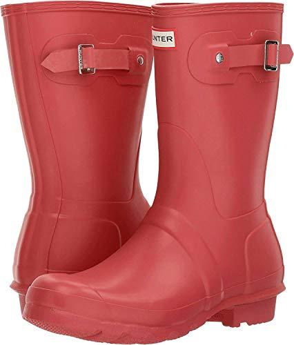 Hunter Original Short - Botas para mujeres, color rojo military red, talla 40/41 EU 7 UK