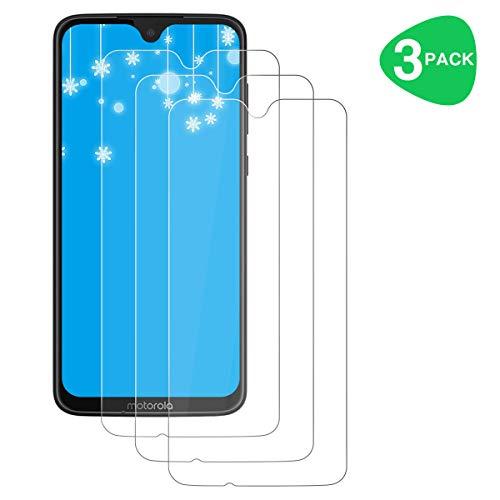 ZYUTON [3 Stück] Schutzfolie für Motorola Moto G7 / Moto G7 Plus, Panzerglas 2.5D [HD Clear] [Anti-Kratzen] [9H Härte] [Blasenfrei] Bildschirmschutzfolie Folie