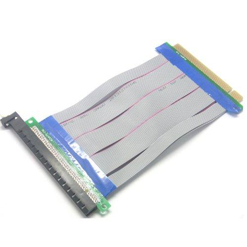 Sienoc PCI-Express PCI-E 16X Tarjeta Elevadora Flexible