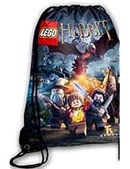 LEGO El Hobbit cordón mochila mochila escolar bolsa de natación