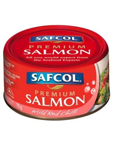 Safcol Premium Mild Red Chilli Lachs 95g x 12 -