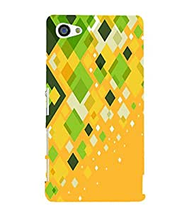 Fiobs Designer Back Case Cover for Sony Xperia Z5 Compact :: Sony Xperia Z5 Mini (Cool Patterns Design Art Shapes Sundar)