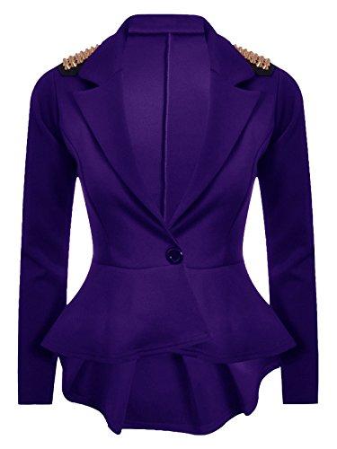 Baleza - Veste de tailleur - Femme Violet