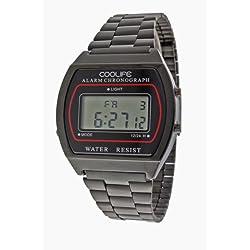 Coolife Unisex-Armbanduhr Retro Style Watches Digital Quarz Metall CL2013G934