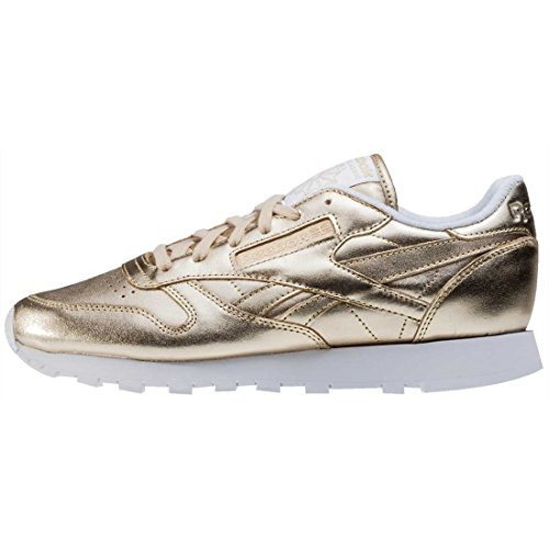 Reebok Damen Classic Leather Spirit Sneakers Metallisch