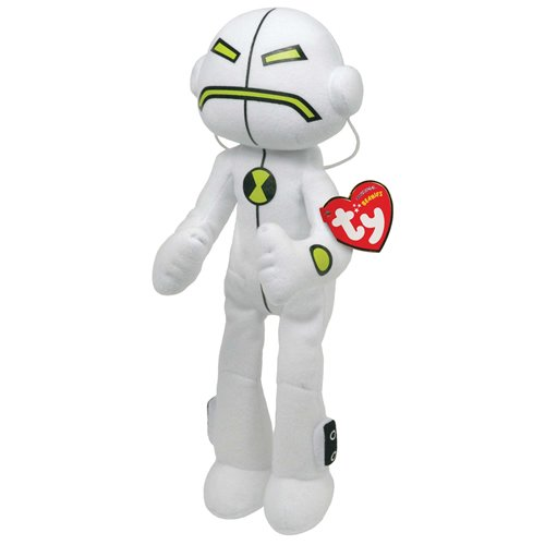 Image of Ben 10 Ty Beanie Baby Soft Toy Echo Echo