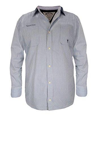Replika -  Camicia Casual  - Uomo blu XXL