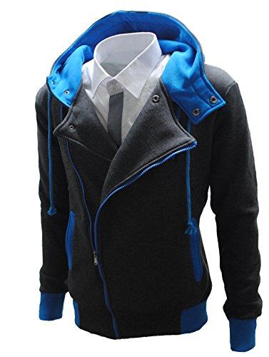 Garcia Pescara Designer Sweatjacke Blau
