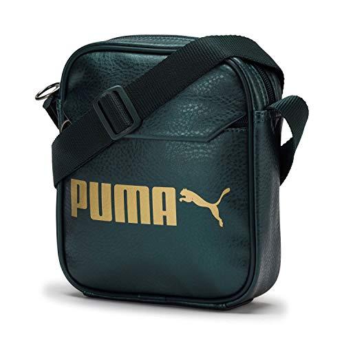 Puma Campus Portable Umhängetasche 21 cm Ponderosa Pine/Gold-metallic