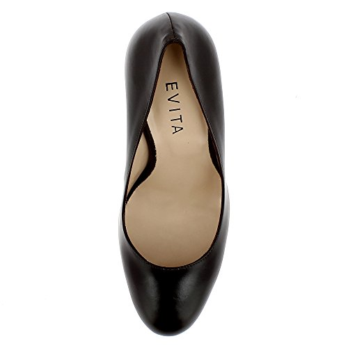 Evita Shoes  Cristina,  Scarpe col tacco donna Marrone scuro