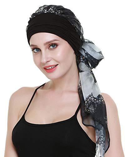 FocusCare Headwraps schals für Chemo - Patienten Krebs Frauen Kopfbedeckung - Geschenke für haarausfall
