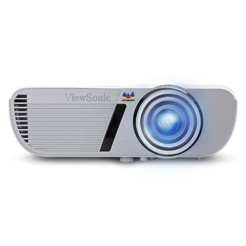 Viewsonic PJD5553LWS Kurzdistanz DLP Projektor (WXGA, 3.200 ANSI Lumen, HDMI, Lautsprecher) Weiß