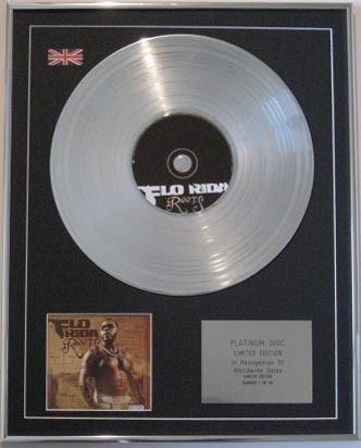 FLO-RIDER CD Platinum Disc-ROOTS