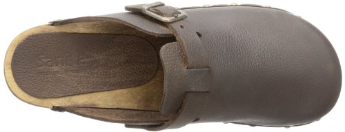 Sanita Wood-Hartwig open 458215-2, Sabot donna Marrone (Braun (Antique Brown 78))