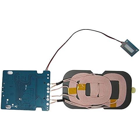 ZOER-Caricatore Wireless Qi-Caricabatterie Wireless con tre bobine circuito PCBA adatto