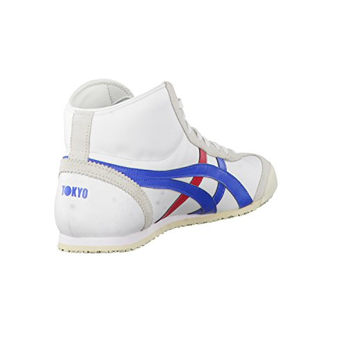 Onitsuka Tiger Mexico Mid Runner chaussures Blanc (wei)