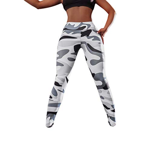 Abstand! Amazon Exclusive DDKK 2019 Damen Performance Mid-Rise Capri Active Leggings Laufen Fitness Anzug 4-Wege Stretch Pants L weiß -