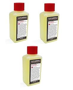 3x LotusGrill Brennpaste 200 ml! Speziell entwickelt für den raucharmen Holzkohlegrill/Tischgrill
