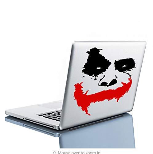 Likeai Wandaufkleber Vinyl Wall Decal Scary Clown Gesicht Film Batman: Dark Knight Aufkleber, Wandbild 70 * 57Cm (Clown Scary Filme)