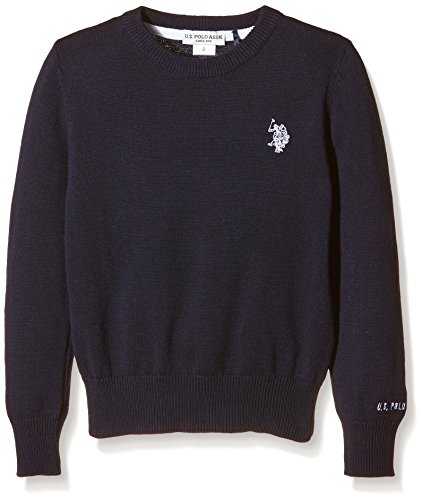 us-polo-assn-unisex-child-dbl-horse-r-neck-knit-pullover-blue-blu-177-size-6