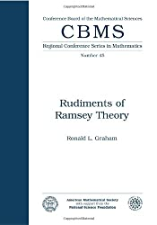 Rudiments of Ramsey Theory (Cbms Regional Conference Series in Mathematics)