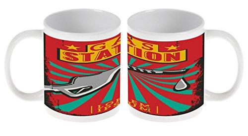 LEotiE SINCE 2004 Kaffetasse Tasse Kaffeebecher Becher Latte Cappuccino Espresso Nostalgie Auto...