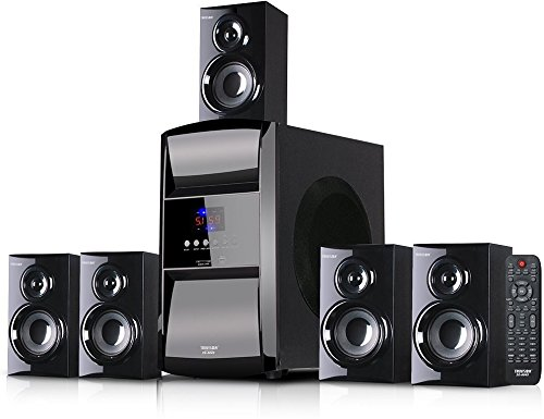 Truvison SE-6045 16000W 5.1 Multimedia Speaker System with Bluetooth USB SD FM Playback Support Feature Superior Sound Clarity