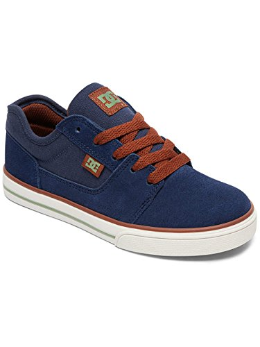 DC Shoes Tonik, Sneakers Basses Garçon Bleu