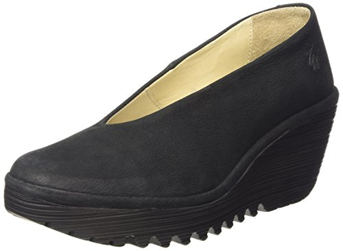 Fly London Yaz, Scarpe con Tacco Donna Nero (Black 179)