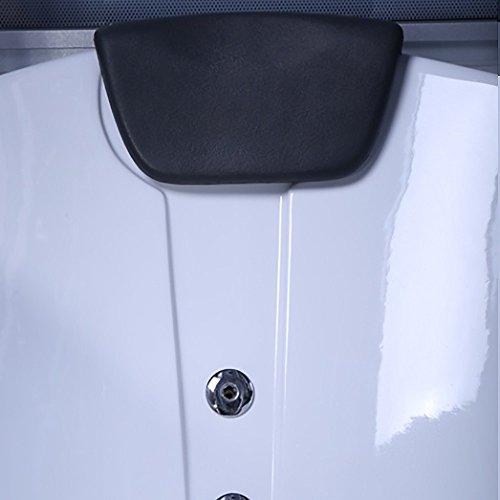 Home Deluxe Diamond schwarz Duschtempel, inkl. Whirlpool und Dampfsauna - 6