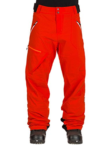 Ortovox Herren 2l Swisswool Andermatt Pts M Hose, Crazy orange, M