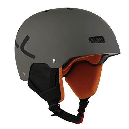 O'Neill Helmet Rookie | Moss | Ski & Snowboard Helm | Hochwertige Qualität (Moss, M | 54-58 cm)