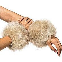Puños cuellos en ECO fur mangas per malla y abrigos pack
