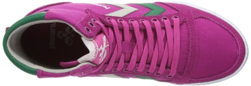hummel  HUMMEL SLIMMER STADIL HIGH, Hi-Top Slippers mixte adulte Rose - Pink (RASPBERRY 3574)